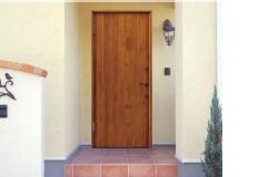 ラスティック玄関ドア