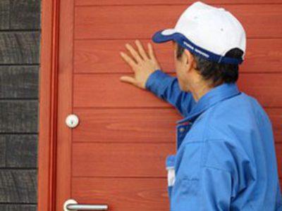 世界に一つしかない木製ドア