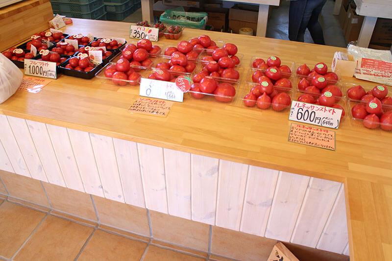 小鈴ファームのトマト
