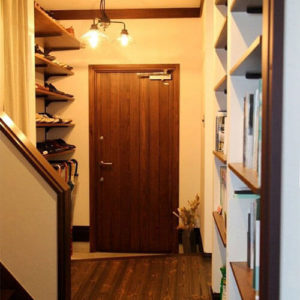 ユダ木工木製ドア、MIYAMA桧木製玄関ドアシリーズ
