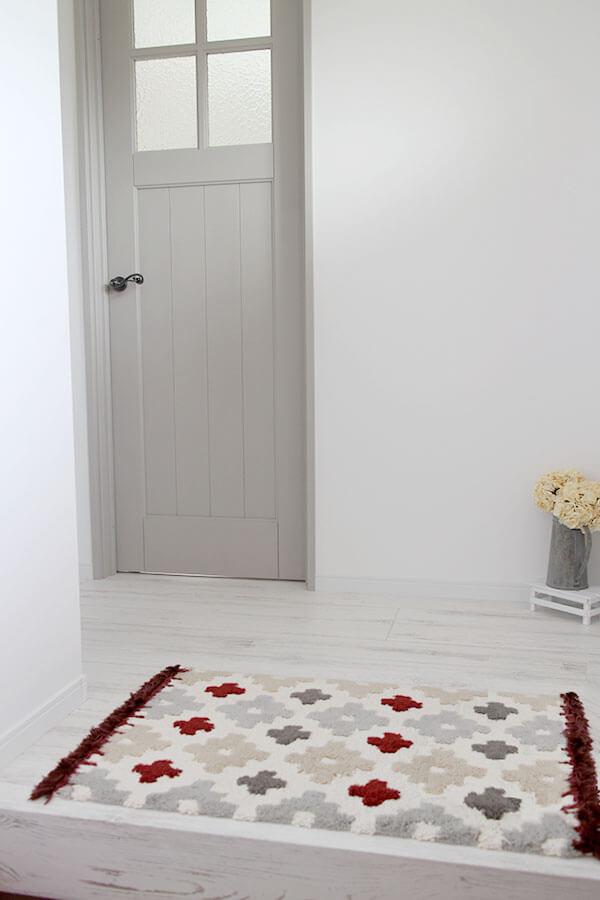 ユダ木工ジーンズスタイル室内ドア グレーのかわいい木製ドア