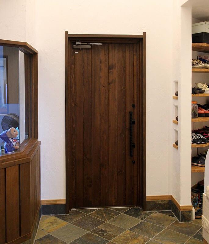 ユダ木工 木製玄関ドア