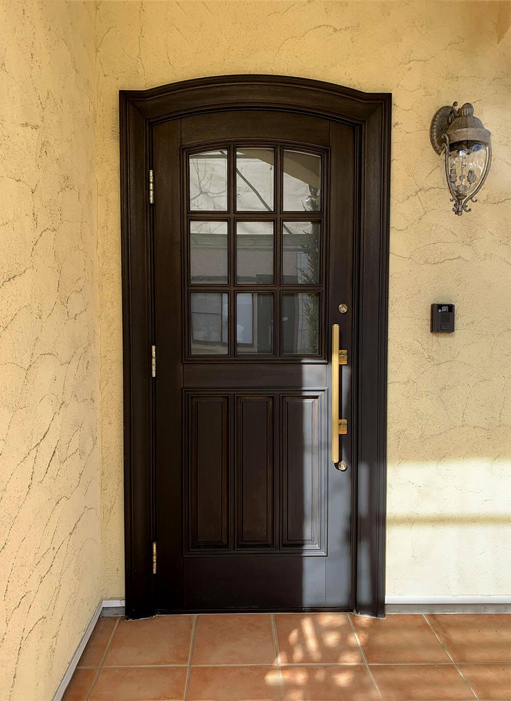 17年前の木製玄関ドア