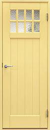 ジーンズスタイル室内ドア JS151 カナリアイエロー