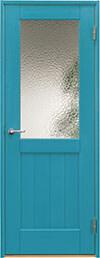 ジーンズスタイル室内ドア JS410 トルマリンブルー