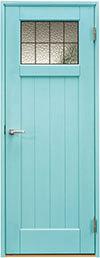 ジーンズスタイル室内ドア JS473 スカイブルー