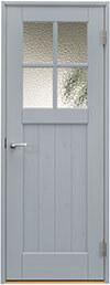 ジーンズスタイル室内ドア JS480 シルバーグレー