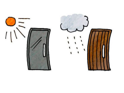 木製ドアは変形する? 素材と向き合うものづくり