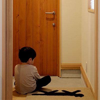静岡K様邸 木製玄関ドア