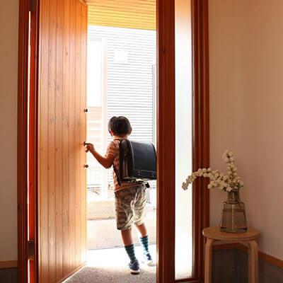 兵庫S様邸 木製玄関ドア